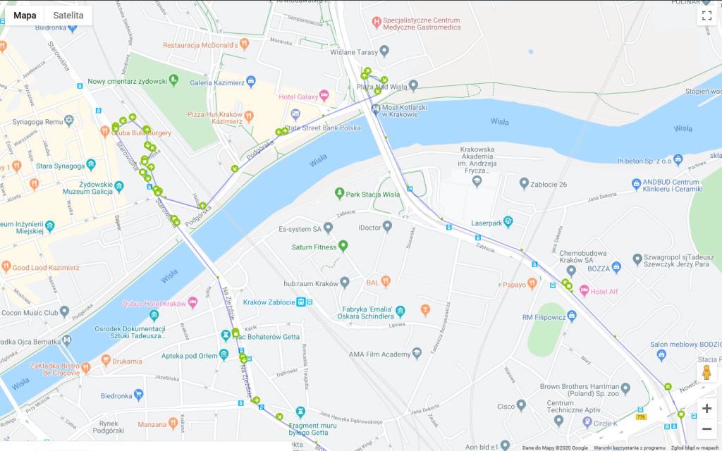 Mitoring Pojazdów GPS Kraków